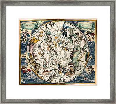 The Constellations Framed Print by British Library