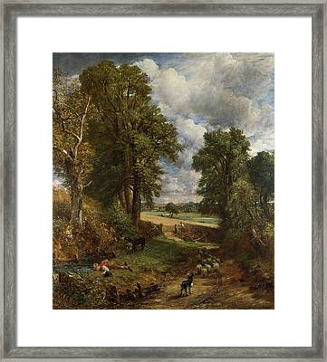 The Cornfield Framed Print by John Constable