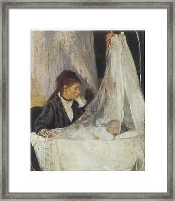 The Cradle Framed Print by Berthe Morisot