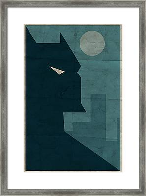 The Dark Knight Framed Print by Michael Myers
