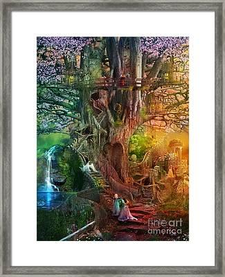 The Dreaming Tree Framed Print by Aimee Stewart