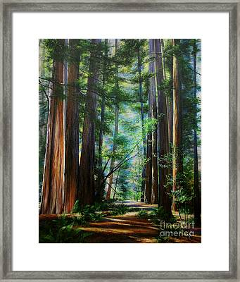 The Elders Framed Print by Jeanette French