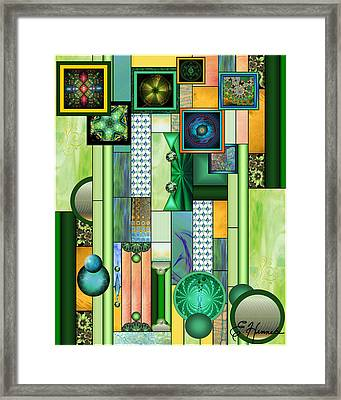 The Gallery Framed Print by Ellen Henneke