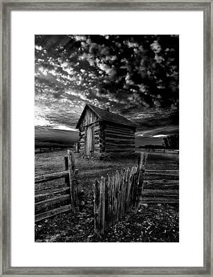 The Gate Framed Print by Phil Koch