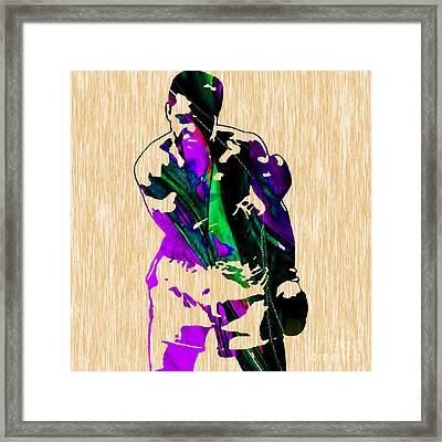 The Greatest Muhammad Ali Framed Print by Marvin Blaine
