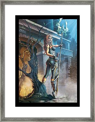 The Guardian Framed Print by Ylenia Art