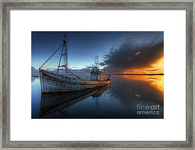 The Guiding Light. Framed Print by English Landscapes