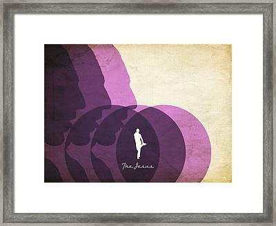 The Jesus Framed Print by Filippo B