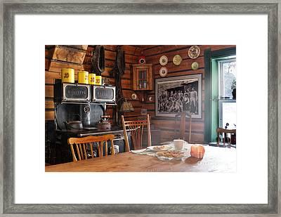 The Kitchen Framed Print by Juli Scalzi