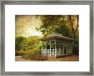 The Ladies Pavilion Framed Print by Jessica Jenney
