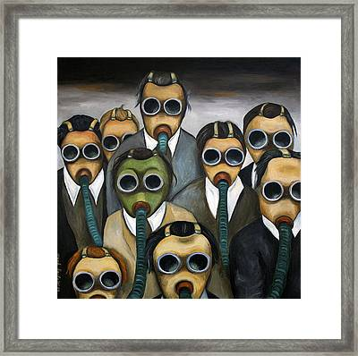 The Meeting  Framed Print by Leah Saulnier The Painting Maniac