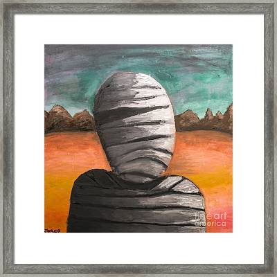 The Mummy And The Curse Of Eternity Framed Print by Jorgo Photography - Wall Art Gallery