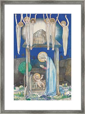 The Nativity Framed Print by Edward Reginald Frampton