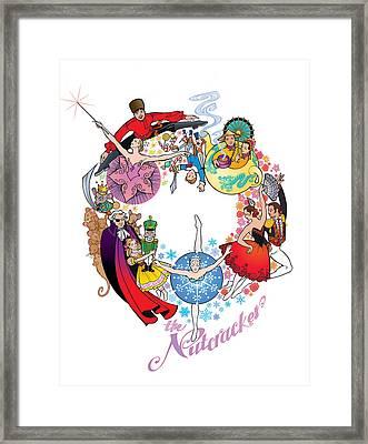 The Nutcracker Framed Print by Steven Stines