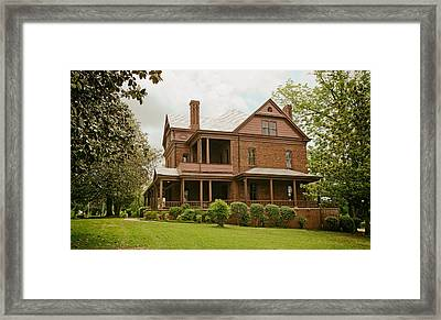 The Oaks - Home Of Booker T Washington Framed Print by Mountain Dreams