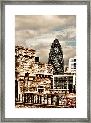 The Old And The New Framed Print by Joanna Madloch