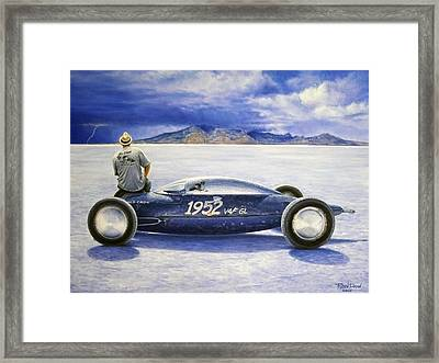 The Old Crow Belly Tank Framed Print by Ruben Duran