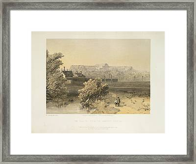 The Palace Framed Print by British Library