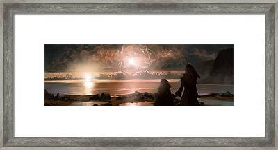 The Pioneers Framed Print by Mark Zelmer