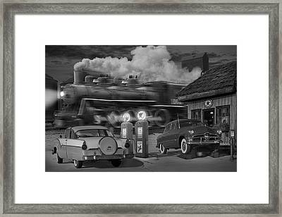 The Pumps Framed Print by Mike McGlothlen