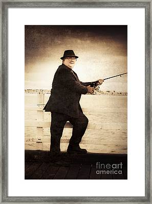 The Retired Skipper Framed Print by Jorgo Photography - Wall Art Gallery