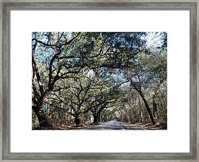 The Ride Home Framed Print by Kathleen Golden