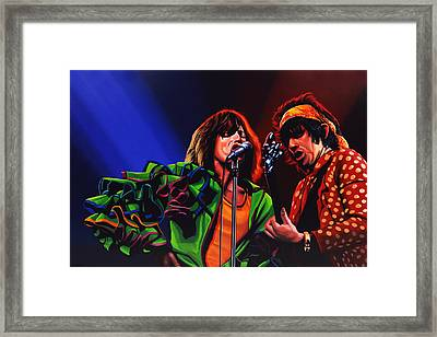 The Rolling Stones 2 Framed Print by Paul Meijering