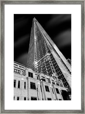 The Shard Framed Print by Ian Hufton