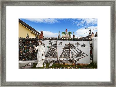 The Shell Cottage In Abbeyside Framed Print by Panoramic Images