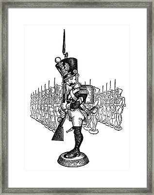 The Steadfast Tin Soldier Framed Print by Granger