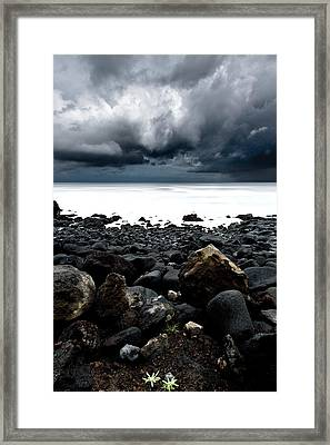 The Storm Framed Print by Jorge Maia