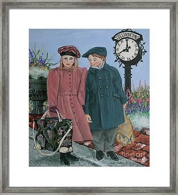 The Trip Framed Print by Linda Simon
