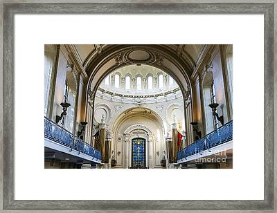 The United States Naval Academy Chapel Framed Print by John Greim