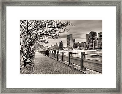 The Walk Framed Print by JC Findley