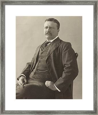 Theodore Roosevelt Framed Print by Unknown