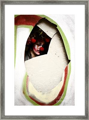 These Walls Have Eyes Framed Print by Jorgo Photography - Wall Art Gallery
