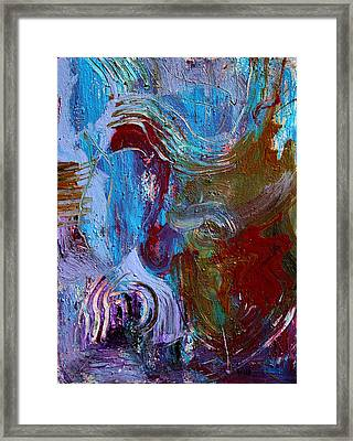 Thinking Machine Framed Print by Oscar Penalber