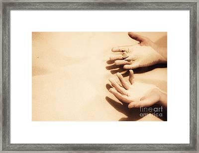 Thirst Of A Dessert Wanderer Framed Print by Jorgo Photography - Wall Art Gallery