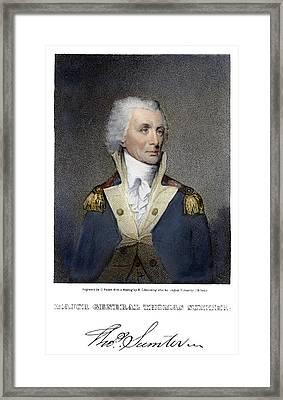 Thomas Sumter (1734-1832) Framed Print by Granger