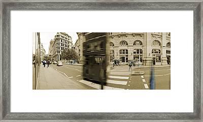 Threadneedle Street Framed Print by Jan Faul