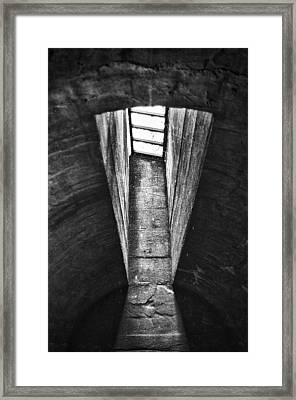 Through The Pane Framed Print by Scott  Wyatt