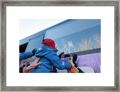 Tim Peake Framed Print by Esa�stephane Corvaja, 2015