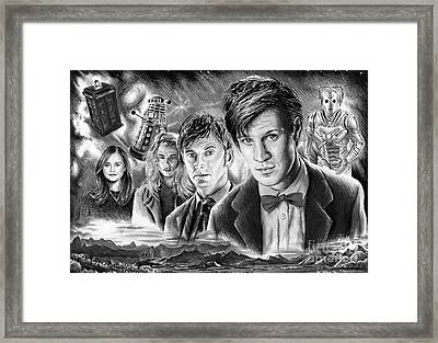 Time Travel Framed Print by Andrew Read