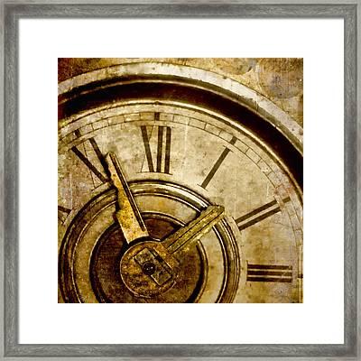 Time Travel Framed Print by Carol Leigh
