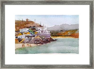 Tinos Framed Print by George Siaba