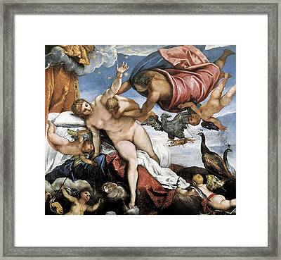 Tintoretto, Jacopo Robusti, Called Il Framed Print by Everett