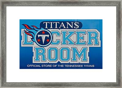 Titan Football Framed Print by Frozen in Time Fine Art Photography