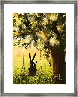 Together Framed Print by Veronica Minozzi