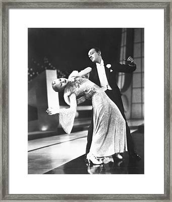Top Hat  Framed Print by Silver Screen
