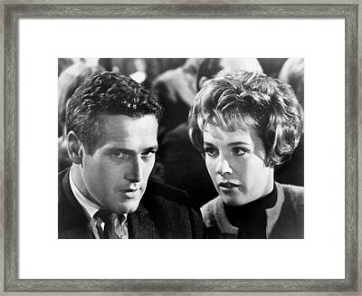 Torn Curtain, From Left, Paul Newman Framed Print by Everett